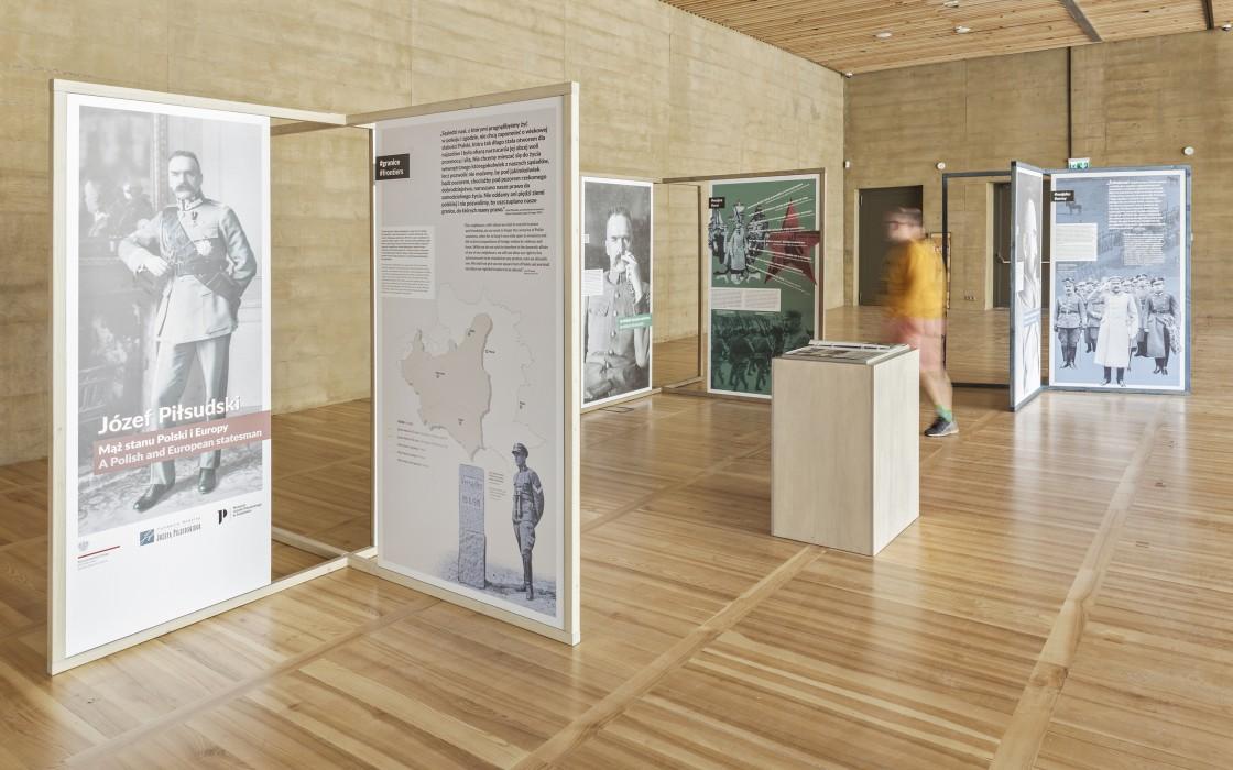 projekt wystawy tatemono muzeum pilsudski